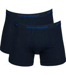 armani boxershorts ea 2-pak donkerblauw