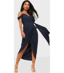 forever new hadley waterfall midi dress loose fit dresses