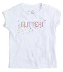camiseta infantil na glitter reserva mini feminina