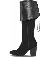 botas dunstana negro para mujer croydon