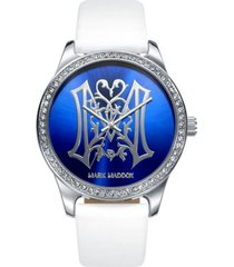 reloj blanco mark maddox mujer