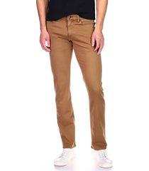 men's dl1961 men's nick slim fit stretch jeans, size 36 - beige