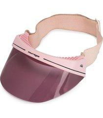 courrèges pre-owned visor cap - pink