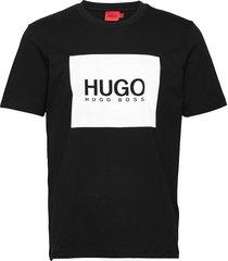 dolive_u212 t-shirts short-sleeved svart hugo