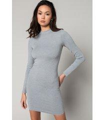 akira ultra seamless long sleeve mini dress