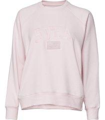 betty crew sweat-shirt tröja rosa svea