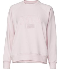 betty crew sweat-shirt tröja rosa svea