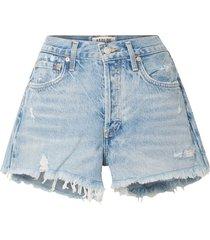 parker distressed denim shorts