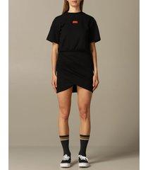 gcds dress gcds t-shirt dress with big manga print on the back