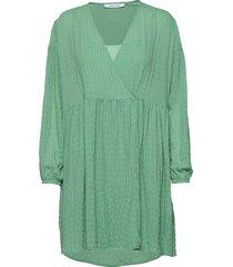 jolie short dress 11156 kort klänning grön samsøe samsøe