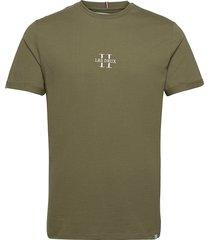 les deux ii t-shirt smu t-shirts short-sleeved grön les deux