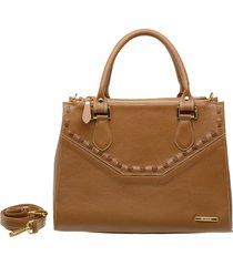 bolsa de mão e transversal média em couro sifra lançamento luxo