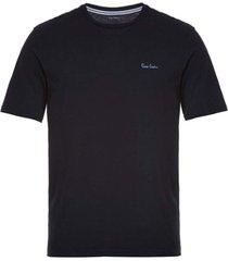 camiseta malha básica preta - kanui