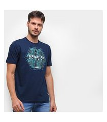 camiseta hd time is now masculina