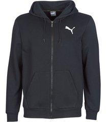 sweater puma essential hoody zip