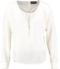 only ecru blouse polyester