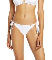 women's luli fama brazilian ruched bikini bottoms