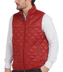 barbour men's mitchell quilted vest