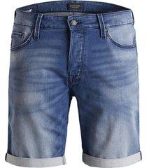 jack & jones jeans short 12147066 rick 851 blue - denim