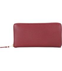 comme des garçons wallet 'luxury group' wallet - red