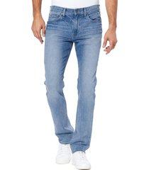 men's paige federal slim straight leg jeans, size 40 - blue