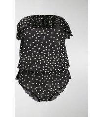 stella mccartney polka dot playsuit