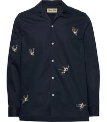 anker shirt overhemd casual blauw wood wood