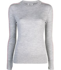 jason wu fine knit sweatshirt - grey