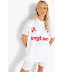 engaland voetbal t-shirt, white