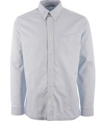 ben sherman long sleeve oxford shirt - mint 0055437