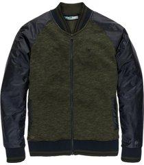 cast iron bomber jacket terry