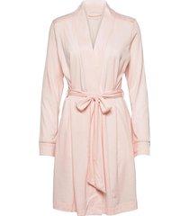 dressing gown morgonrock rosa schiesser