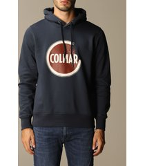 colmar sweater colmar cotton sweatshirt with hood and logo