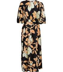 aubrie, 1104 lemon viscose dresses everyday dresses svart stine goya
