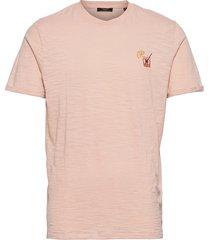 jprblabeach ss tee embroidery t-shirts short-sleeved rosa jack & j s