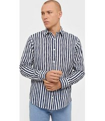 nn.07 errico shirt 5212 skjortor stripes