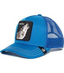 gorra  wolf azul goorin bros