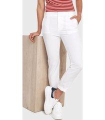 pantalón blanco active
