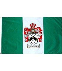 hatfield coat of arms flag / family crest flag