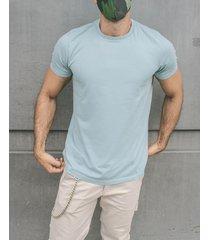 camiseta pmp slim basica cuello tejido