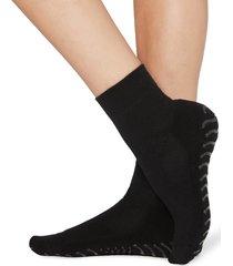 calzedonia - extra-short non-slip sport socks, one size, black, women