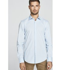 camicia in popeline stretch
