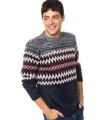 sweater  azul  bross
