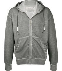 a-cold-wall* plain zip-up hoodie - grey