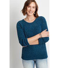maurices womens chenile pullover sweater blue