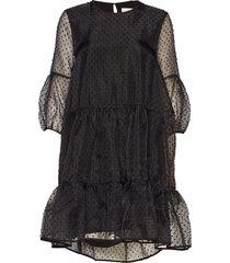katerinaiw dress korte jurk zwart inwear