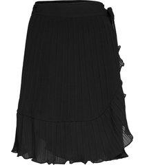 mounto skirt knälång kjol svart second female