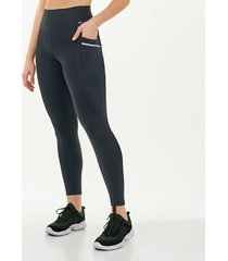 calça legging alto giro hyper com laser lateral preto 2111347 preto