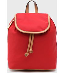 mochila rojo tommy hilfiger