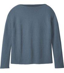 pullover, rookblauw 40